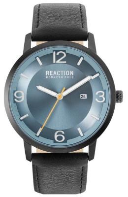 Kenneth Cole Reaction Black & Blue Mens Gents Wrist Watch RK50600003