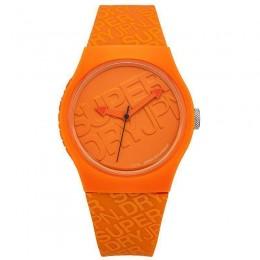 Superdry Mens Gents Orange Urban Quartz Wrist  Watch SYG169O