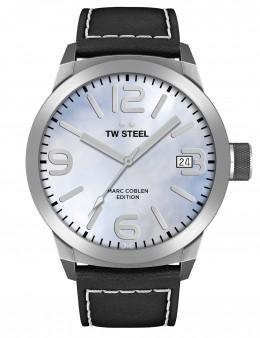 TW Steel Marc Coblen Blue & Black Mens Gents Wrist Watch TWMC23