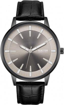 Kenneth Cole Reaction Black & Grey Mens Gents Wrist Watch RK50094002