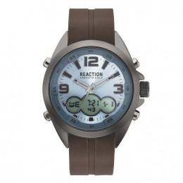 Kenneth Cole Reaction Black & Brown Mens Gents Wrist Watch RK50488017
