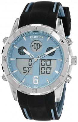 Kenneth Cole Reaction Black & Blue Mens Gents Wrist Watch RK50604002