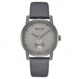 Kenneth Cole Reaction Silver & Grey Mens Gents Wrist Watch RK50084006