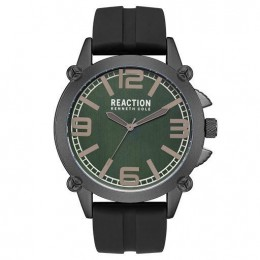 Kenneth Cole Reaction Green & Black Mens Gents Wrist Watch RK50091006