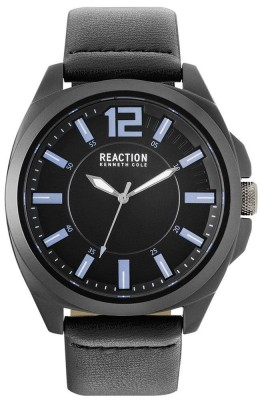 Kenneth Cole Reaction Black & Blue Mens Gents Wrist Watch RK50344005
