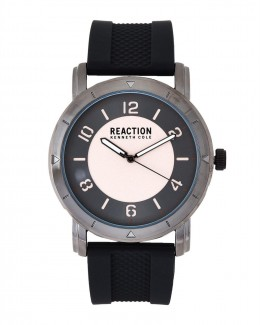 Kenneth Cole Reaction Grey & Black Mens Gents Wrist Watch RK50093001