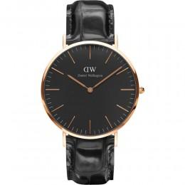Daniel Wellington Reading Black Mens Ladies Unisex Wrist Watch DW00100129