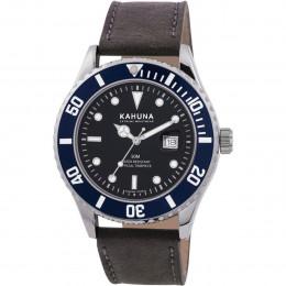 Kahuna Brown&Blue Mens Gents Wrist Watch KUS-0103G