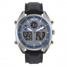 Kenneth Cole Reaction Blue & Grey Mens Gents Wrist Watch RK50550005