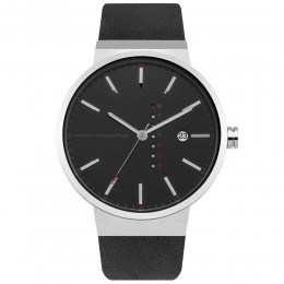 French Connection Gents Mens Wrist Watch Black Strap FC1283B