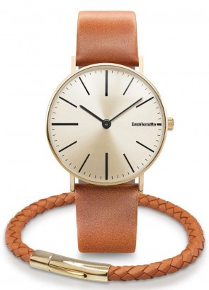 Lambretta Mens Womens Unisex Wrist Watch Franco Cognac Kit 2168CRE
