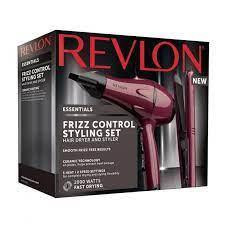 Revlon Ladies Womens Frizz Control Stying Set