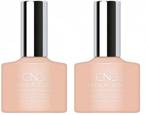 CND Shellac Luxe Ladies Womens Nail Polish Varnish Antique 2 Pack