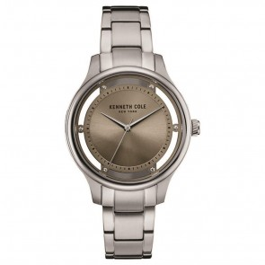 Kenneth Cole Ladies Womens Transparent Wrist Watch 10030795