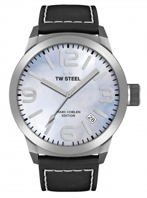 TW Steel Marc Coblen Black & Blue Mens Gents Wrist Watch TWMC2