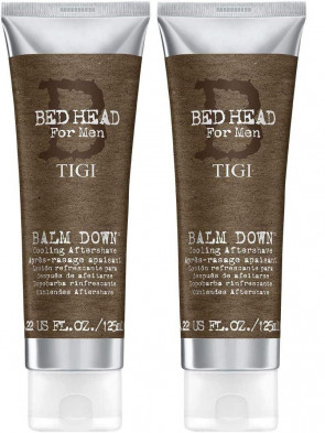 Bed Head for Men by Tigi Balm Down Gents Cooling Aftershave Lotion 125 ml 2 Pack