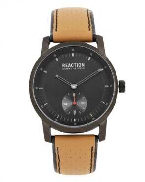 Kenneth Cole Reaction Brown & Black Mens Gents Wrist Watch RK50084002