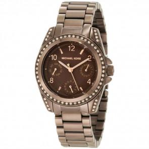 Michael Kors Womens Ladies Blair Bronze Wrist Watch Gold Tone MK5614