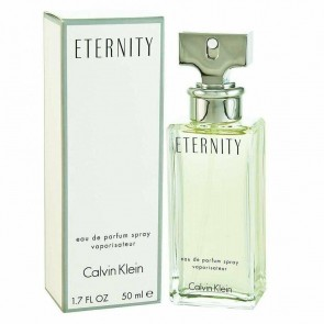 Calvin Klein Eternity 50ml Eau De Parfum Spray Ladies Womens Fragrance