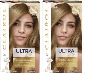 Clairol Ladies Womens Nice' n Easy Crème, Natural Looking Oil Infused Permanent Hair Dye Cool Blonde 177 ml 2 Pack