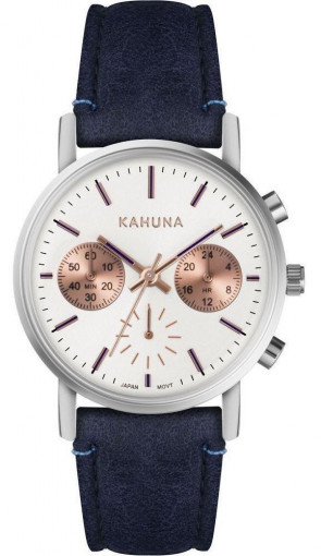 Kahuna Ladies Womens Navy Wrist Watch KLS-0385L