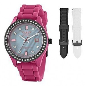 Aviator Ladies Multi Functional Diamante Wrist Watch AVX3666L4
