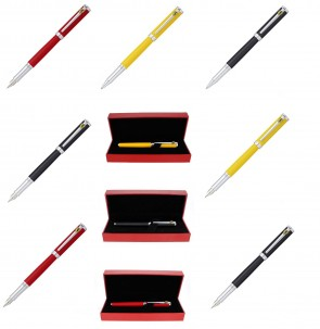 Sheaffer Ferrari Intensity Red Black Fountain or Ballpoint Pens