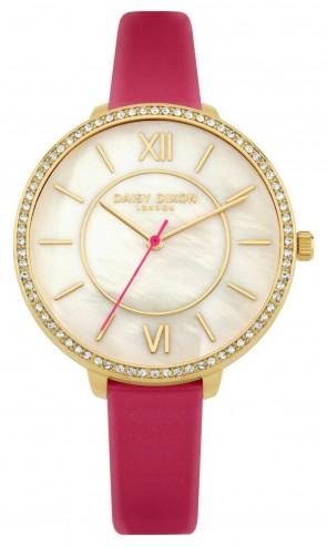 Daisy Dixon Womens Bella Pink & Gold Ladies Womens Wrist Watch DD088PG