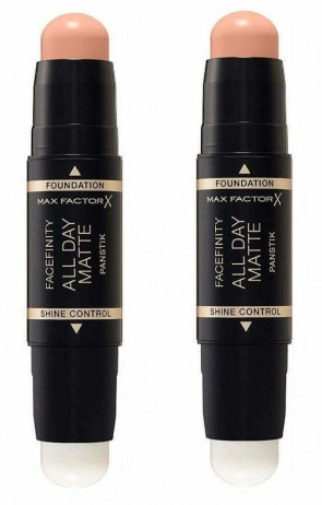MAX FACTOR FACEFINITY ALL DAY PAN STIK WARM ALMOND 45 2 PACK