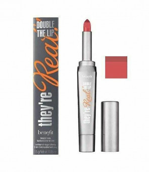 Benefit Ladies Womens They're Real Double Lipstick in Lusty Rose