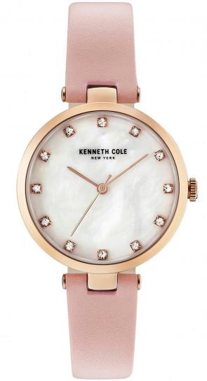 Kenneth Cole Ladies Womens Pink & White Wrist Watch KC50257005