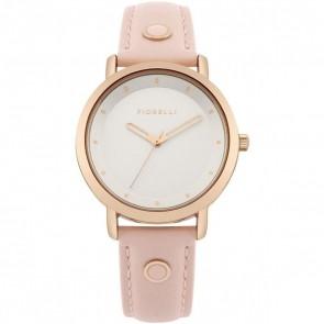 Fiorelli Ladies Watch Gold Bracelet White Dial FO044PRG