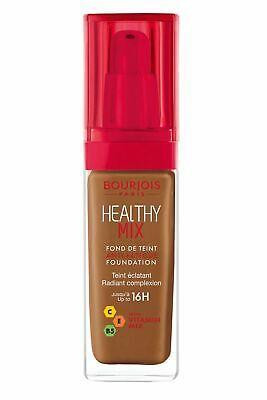 BOURJOIS LADIES WOMENS HEALTHY MIX FOUNDATION 30ML COCOA 63
