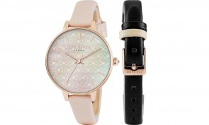Ted Baker  Ladies Womens Dual Strasp Wrist Watch TE50013001
