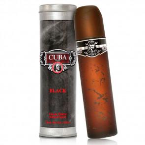 Cuba Paris Mens Gents Black 100ml EDT Aftershave Cologne Fragrance