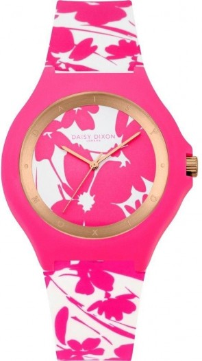 Daisy Dixon Womens Ladies Wrist Watch Pink Dial Strap DD040WP