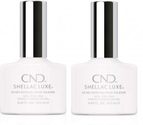 CND Shellac Luxe Ladies Womens Nail Polish Varnish Cream Puff 2 Pack