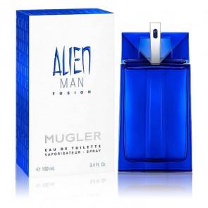 Mugler Mens Gents Alien Man Fusion 100ml EDT Aftershave Cologne Fragrance