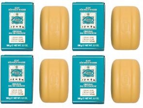 Maurer & Wirtz Mens Womens 4711 Original 100G Ccream Soap 4 Pack