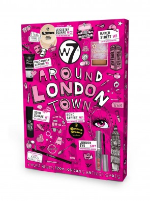 W7 Around Town Make Up Gift Set