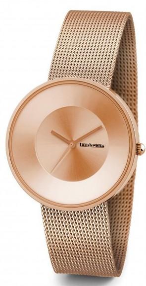 Lambretta Ladies Womens Wrist Watch Rose Gold Mesh 2102ROS