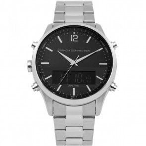 French Connection Mens Gents  Chronograph Watch FC1311BSM