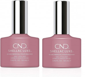 CND Shellac Luxe Ladies Womens Nail Polish Varnish Poetry 2 Pack