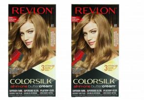 Revlon Ladies Womens Colorsilk Buttercream Lasting Color Medium Natural Blonde 2 PACK