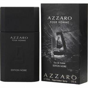 Azzaro Mens Gents Pour Homme Edition Noire EDT 100ml Aftershave Cologne Fragrance