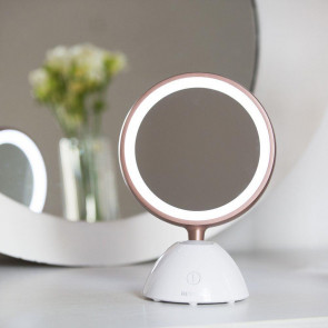 Revlon Ladies Womens Ultimate Glow Dual Sided Magnifying Make Up LED Mirror
