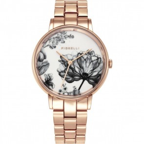 Fiorelli Ladies Watch Gold Bracelet White Dial FO043RGM