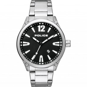 Mens Police Mens Gents Wrist Watch PL15244JBS/02M