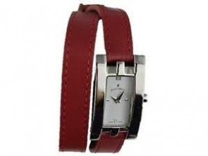 Jacques Du Manoir Ladies Wrist Watch Red