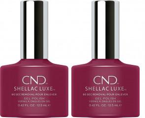 CND Shellac Luxe Ladies Womens Nail Polish Varnish Tinted Love 2 Pack